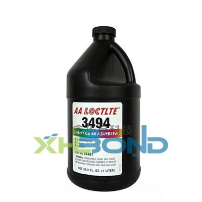 乐泰Loctite3494紫外光固化UV胶