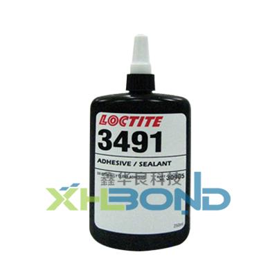 乐泰Loctite3491紫外光固化UV胶