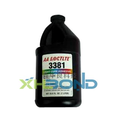 汉高乐泰3381紫外光固化UV胶