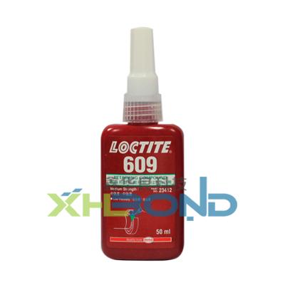 乐泰Loctite609圆柱形固持厌氧胶