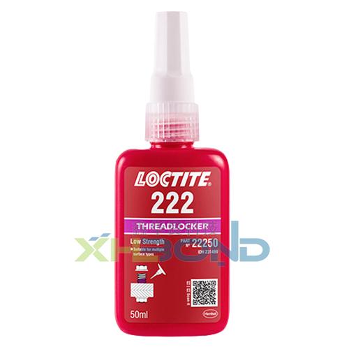 乐泰Loctite222螺纹螺丝锁固胶粘剂